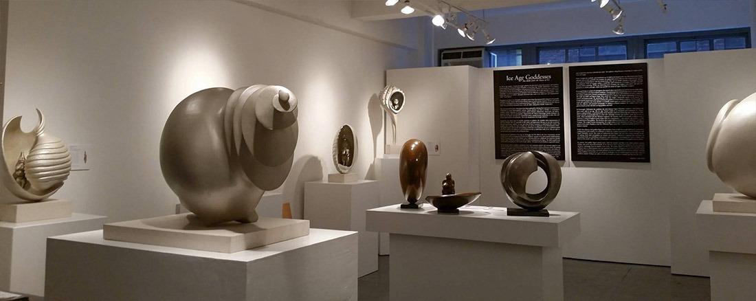 Cornelia Kavanagh installation_716-1 Ice Age Goddess