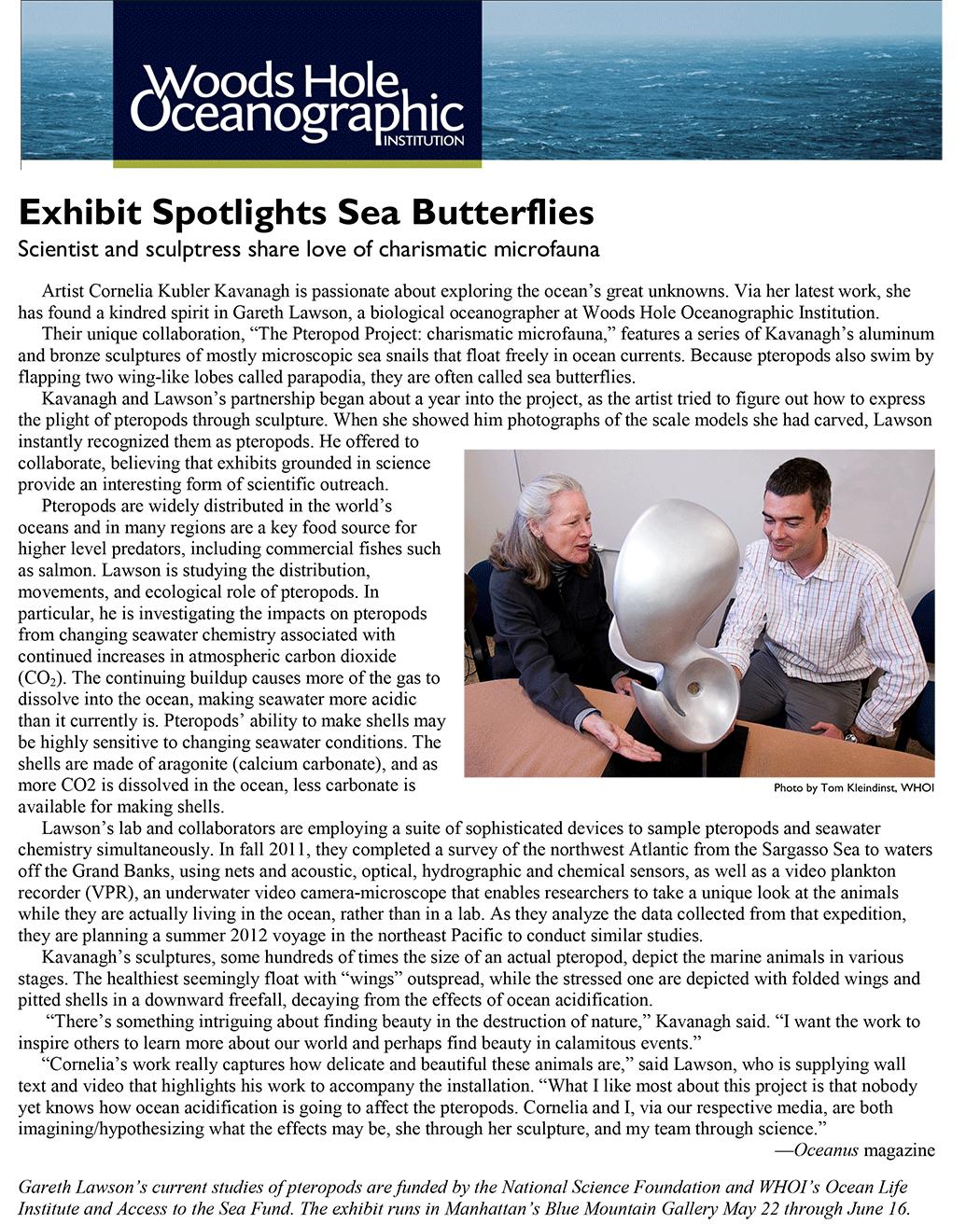 Cornelia Kavanagh oceanusarticle Oceanus Article